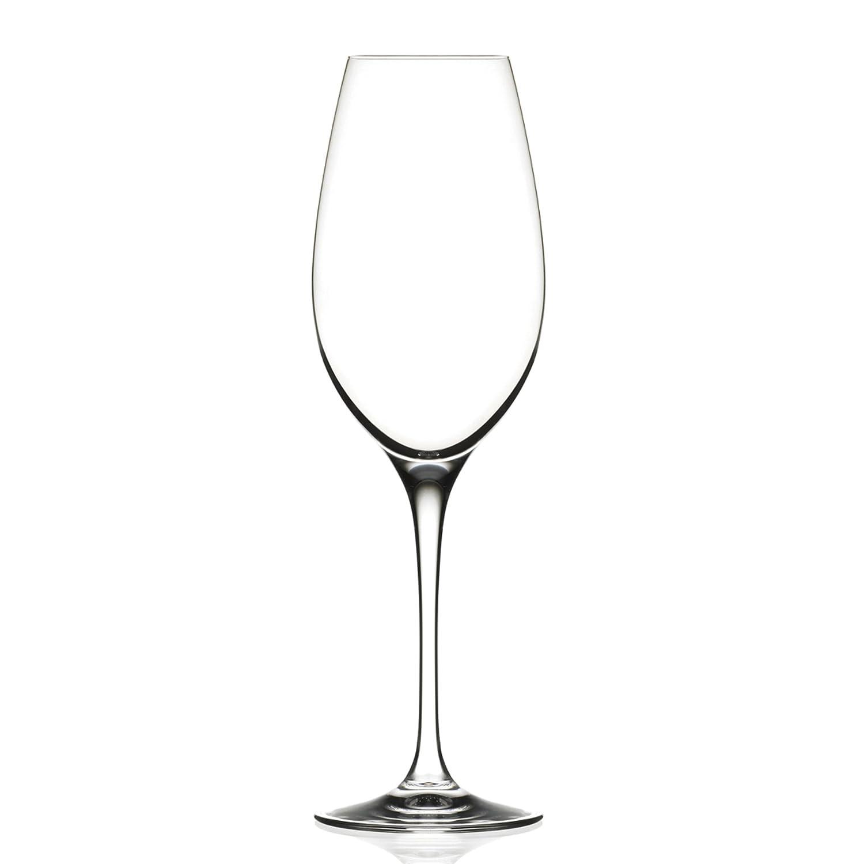 Set of 6 29cl Fine Crystal Champagne//Sparkling Wine Tasting Glasses