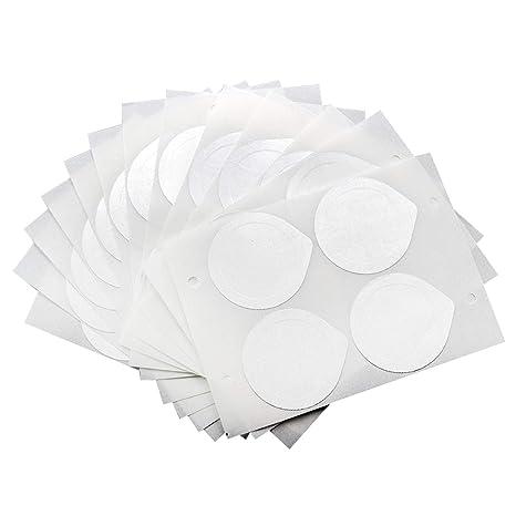 Tapas de Papel de Aluminio Autoadhesivas de 120 Hojas 30 Hojas para reutilizar cápsulas compatibles con