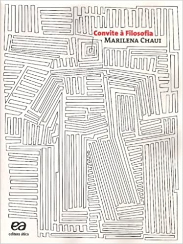 livro um convite a filosofia marilena chaui