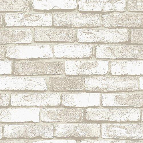 BloomingWall Faux Rust Tuscan Brick Wallpaper For Walls