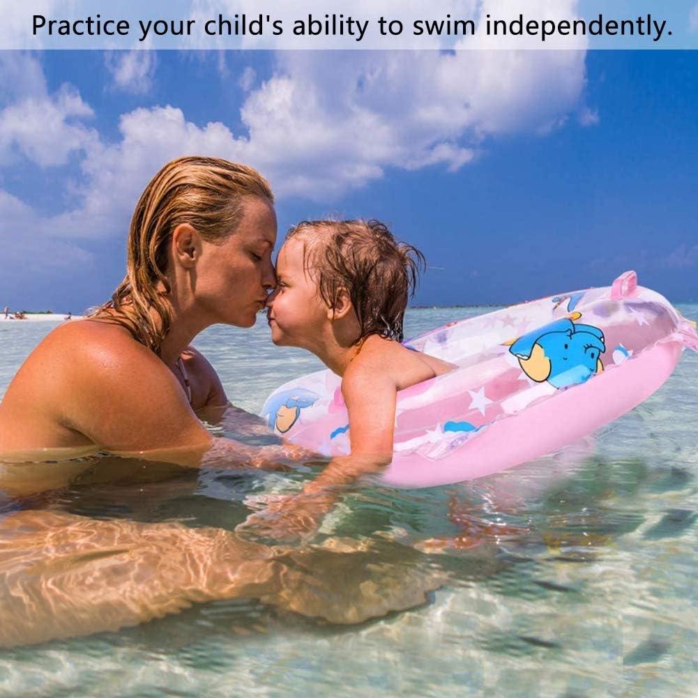 WENTS Baby Schwimmreifen 2PCS Schwimmring Schwimmhilfe Schwimmsitz Aufblasbar Schwimmboot f/ür Kleinkind Schwimmhilfe Spielzeug 6 Monate 4 Jahre