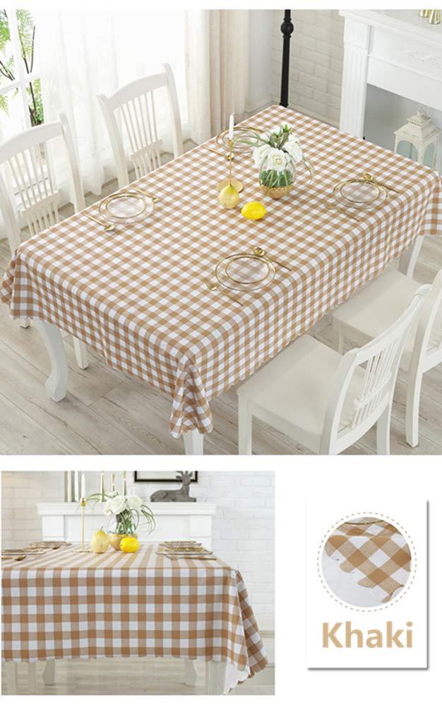 Gitter PVC Abwaschbar Tischtuch Pflegeleicht Fleckschutz Farbe /& Gr/ö/ße W/ählbar Morbuy Tischdecke Garten