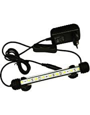 LED Aquarium Light, Led Fish Tank Lighting, Aquarium Lamp A Economie D'energie Lampe High Quality 9 Leds, No noise
