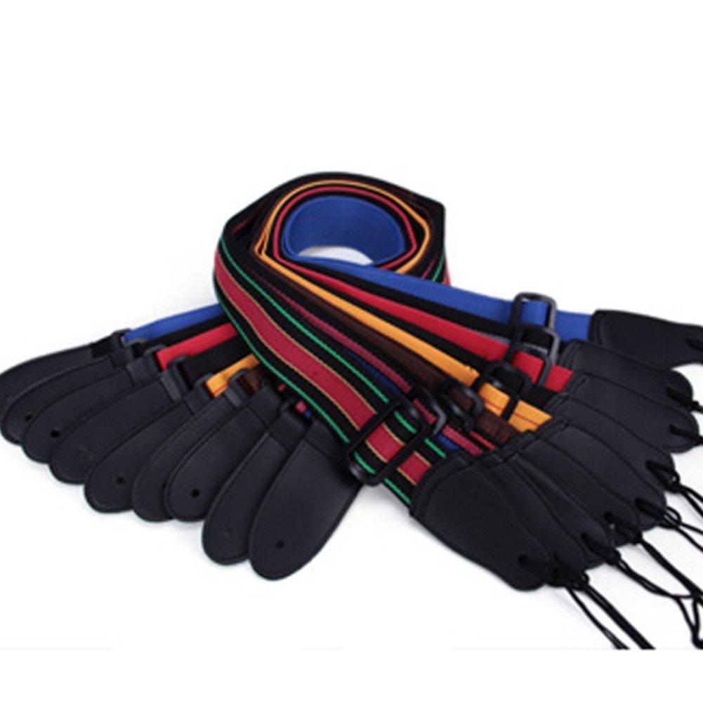 Trifycore Correa de correas de nylon de la guitarra color 1 paquete