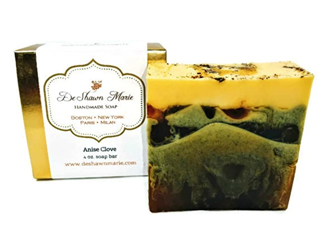 Anise Clove Soap, 4oz Handmade Soap Bar, 100% Vegan, Cruelty Free,
