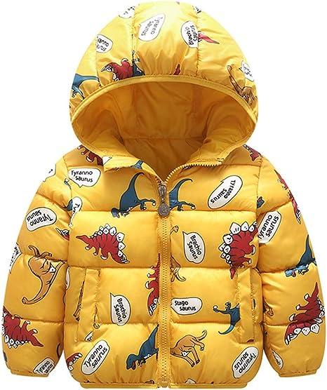 Baby Boys Jacket 2020 Autumn Winter Jackets For Boys Dinosaur Coat Kids Warm Outerwear Coats For Girls Jacket Children Clothes
