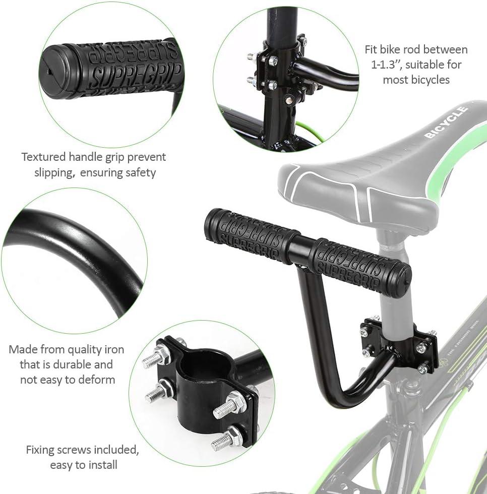Details about  /Bike Armrest Children Kids Hand Grip Bicycle Saddle Safety Rear Seat Handlebar