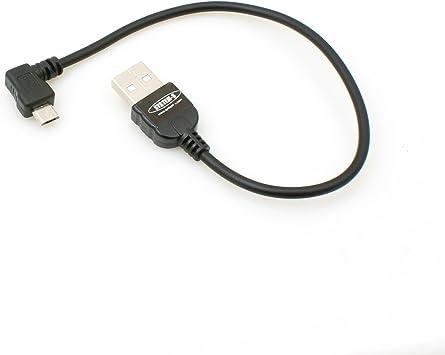 System S Micro Usb 2 0 Kabel Gewinkelt 90 Grad Elektronik