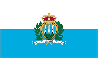 product image for Valley Forge Flag 2-Foot by 3-Foot Nylon San Marino Flag