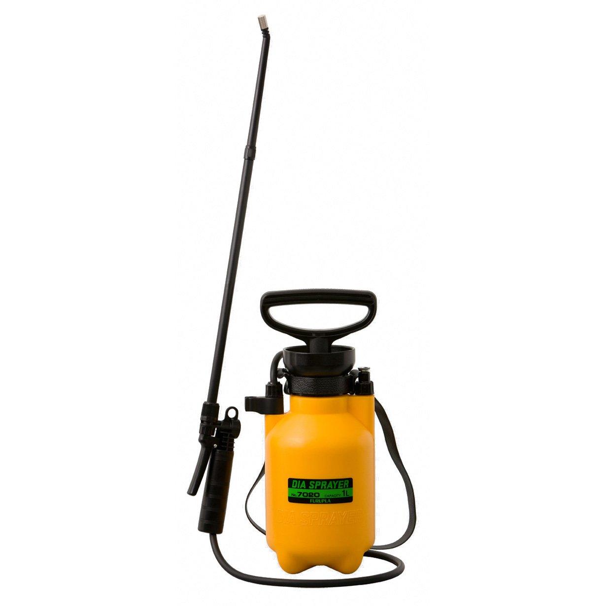 フルプラ プレッシャー式ホルモン剤散布用噴霧器 1L用 50cmノズル付 No.7020 B00LZEQI92