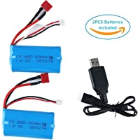 Crazepony-UK Lipo Battery 7.4V 1500mAh Universal Batteries for