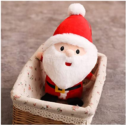 1PC Christmas Tree Santa Claus Soft Plush Toys Doll Baby Kids Xmas Gift Decor