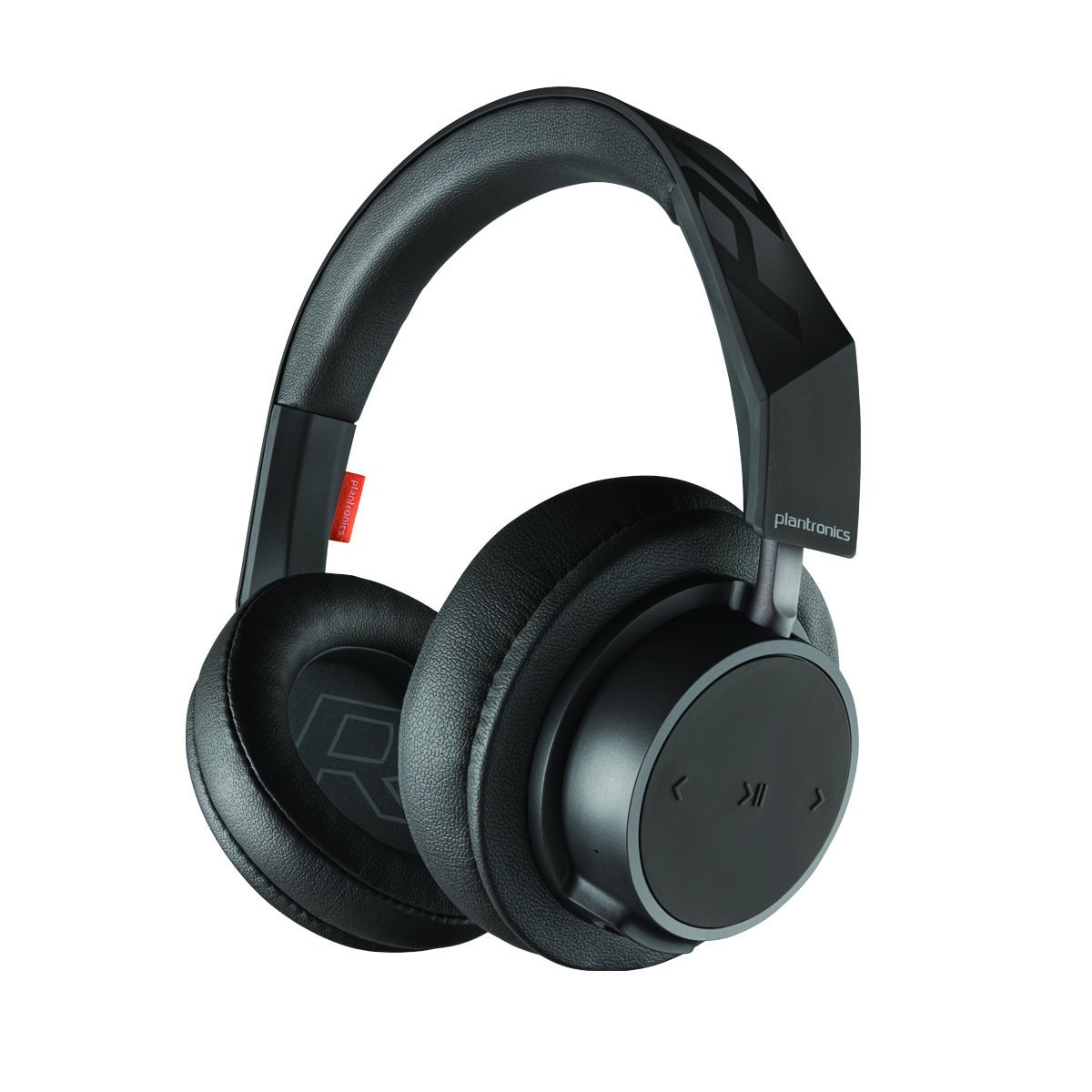 Plantronics BackBeat GO 600 Noise-Isolating Headphones, Over-The-Ear Bluetooth Headphones, Black