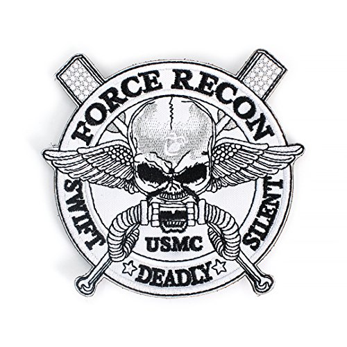 (Tactical Military Morale Patch - Voted Best Quality Patches Perfect for Hats, Jackets, Backpacks, and More (Force Recon))