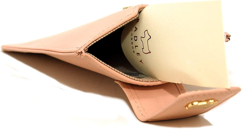 Radley Oak Hill Woods Leather Phone Case in Blush Pink