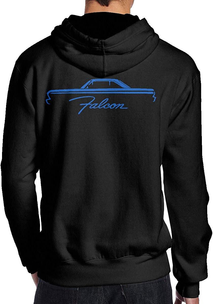 1964-66 Ford Falcon Coupe Classic Color Outline Design Man Leisure Pocket Shirts