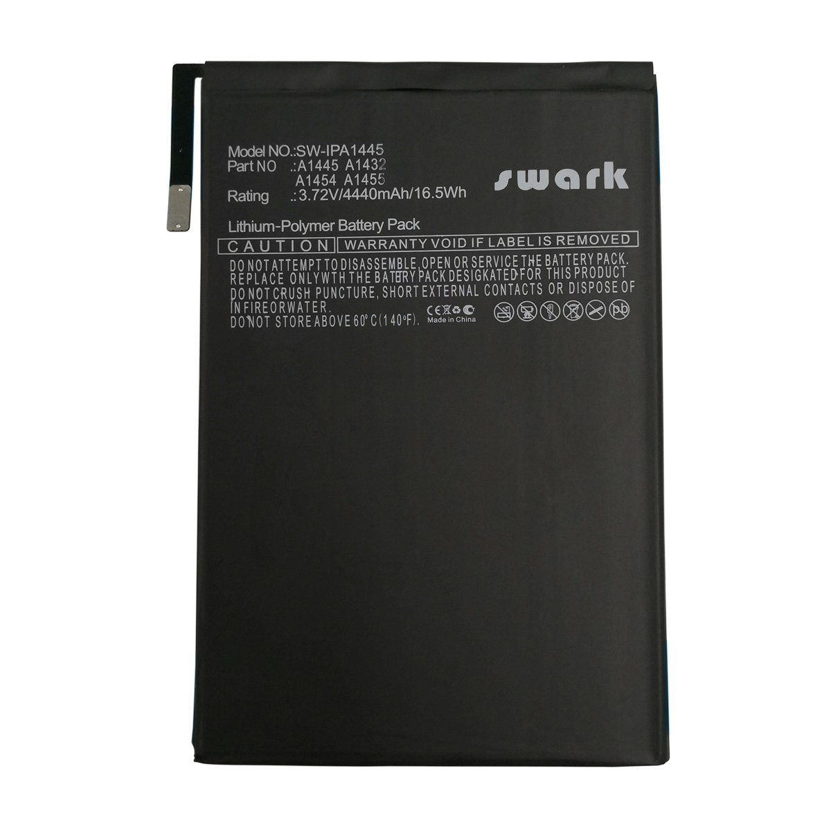 Swark Replacement A1445 Battery Compatible with Apple iPad Mini A1432 A1445 A1454 616-0627 616-0633 616-0688
