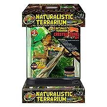 Zoo Med NT-2CK Naturalistic Terrarium Crested Gecko Kit 12x12x18
