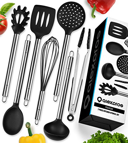 Cooking Utensils - 7 Piece Stainless