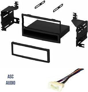 amazon com asc car stereo radio install dash kit, wire harness, and 2012 Kia Rio Engine Labelled asc audio car stereo radio dash kit and wire harness for installing a single din radio
