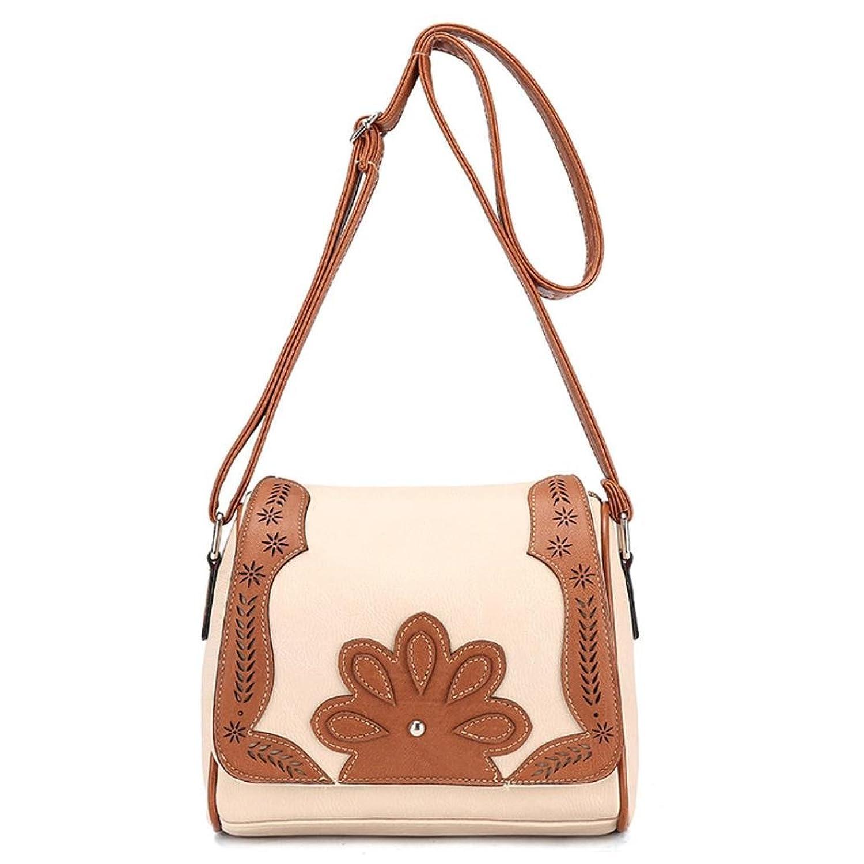 Mosunx(TM) Women Girl Leather Tote Shoulder Crossbody Handbag Satchel Messenger Bag