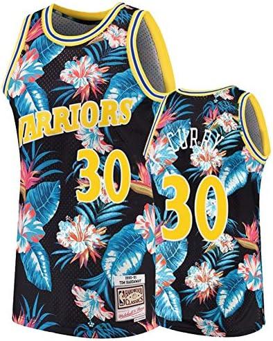ジャージー NBA Golden State Warriors Curry #30 バスケットボール ユニフォーム スポーツ シャツ Tシャツ