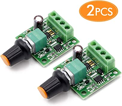 Mini PWM Motor Speed Controller Regulator Module DC 1.8V to 12V 2 NS