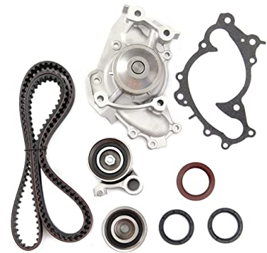 SCITOO Engine Timing Belt Kit Fits 2002-2010 Toyota Highlander Lexus ES300 V6 3.0 3.3L 3MZFE