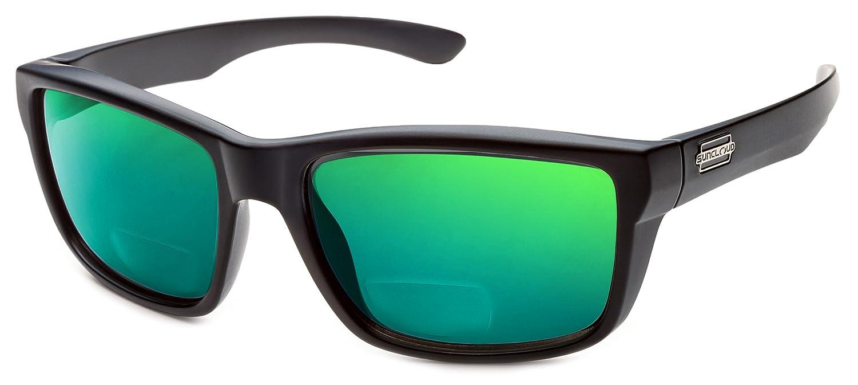 Suncloud メンズ  Matte-black W/ Green Mirror Lens B0756KHGNG