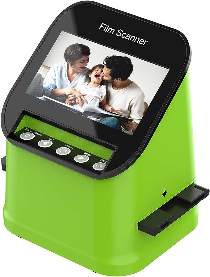 Film Scanner Mit 22 Mp Hochauflösender Diascanner Computer Zubehör