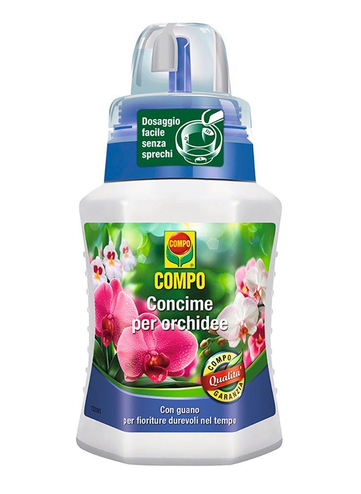 Compo Liquid Fertilizer for Orchids in pack of 250ml Compo Italia 1405902005