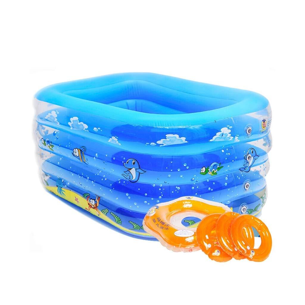 LYM & bañera Plegable Piscina Hogar Niños Niños Bañera Plegable ...