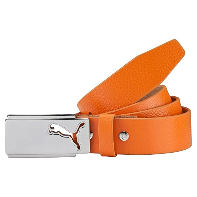 PUMA High Flyer Golf Belt 2017 Vibrant Orange Small