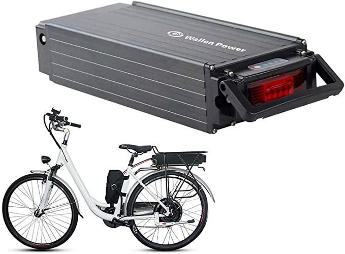 LiRongPing Bicicleta eléctrica de 48V 20Ah y 27 Ah Parrilla de ...