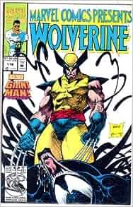 Marvel comics presents wolverine book