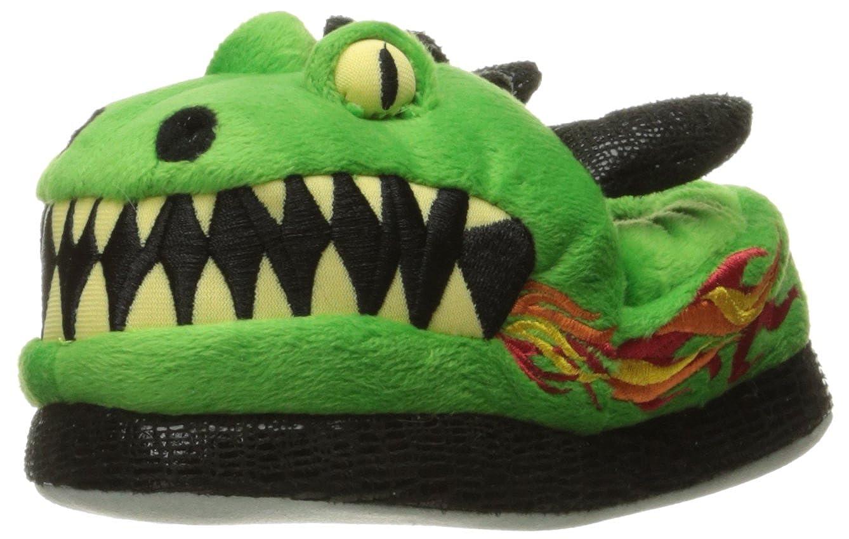 Trimfit Boys Dragon Slippers Moccasin (Toddler/Little Kid/Big Kid) Dragon Slippers - K