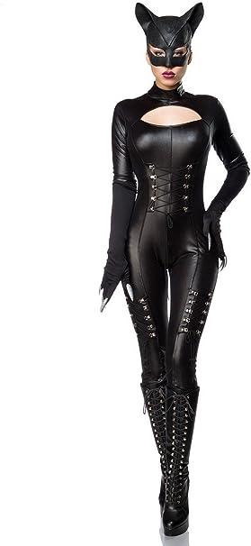 Mask Paradise Hot Catwoman Wetlook Juego Completo – Mono, máscara ...