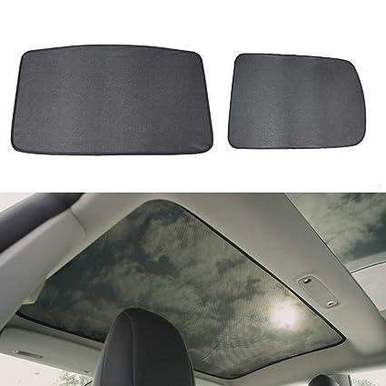 Amazoncom Lesgos Car Window Sun Shades Car Sunroof Uv