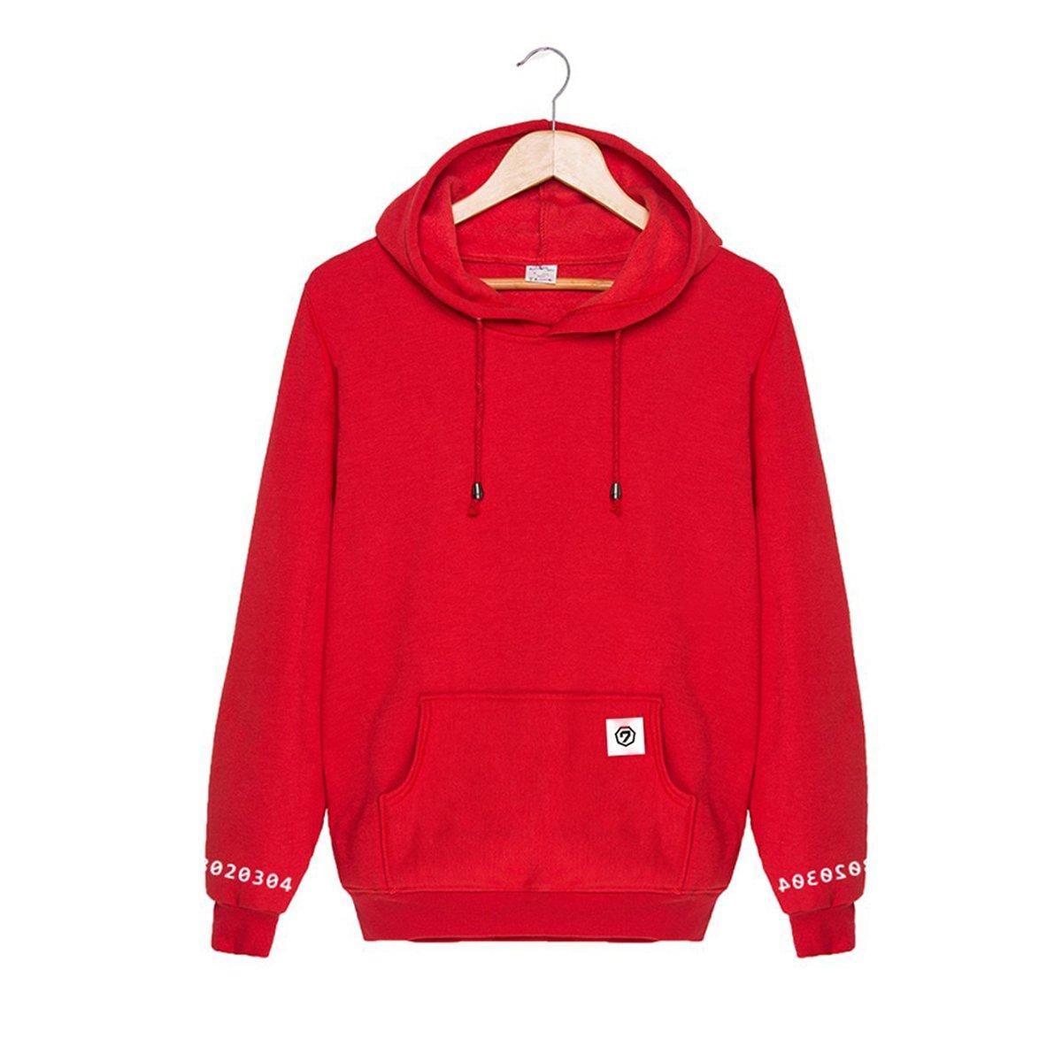 Kpop GOT7 Sweaters Mark JB Jr Bambam Jackson Unsex Hoodie Pullovers Long Sleeve Sweatshirts