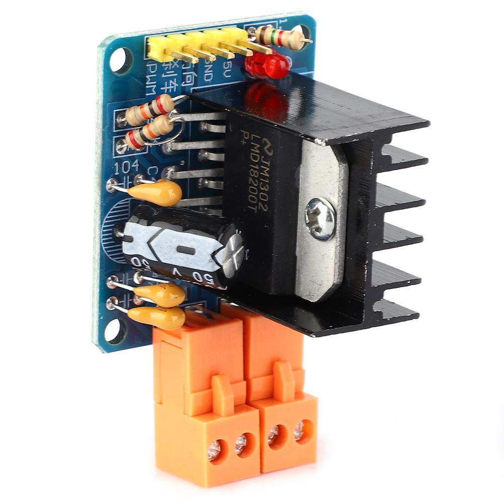 Module dentra/înement de moteur de pont en H /à vitesse r/églable de 3A 75W LMD18200 avec indication de la puissance