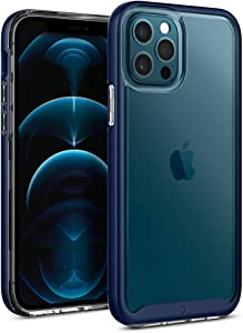 Caseology Skyfall Compatible with iPhone 12 Pro Case Compatible with iPhone 12 Case (2020) - Navy Blue