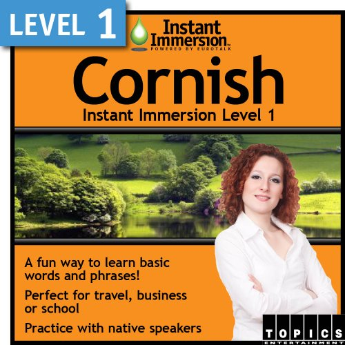 Instant Immersion Level 1 - Cornish [Download] by Topics Entertainment