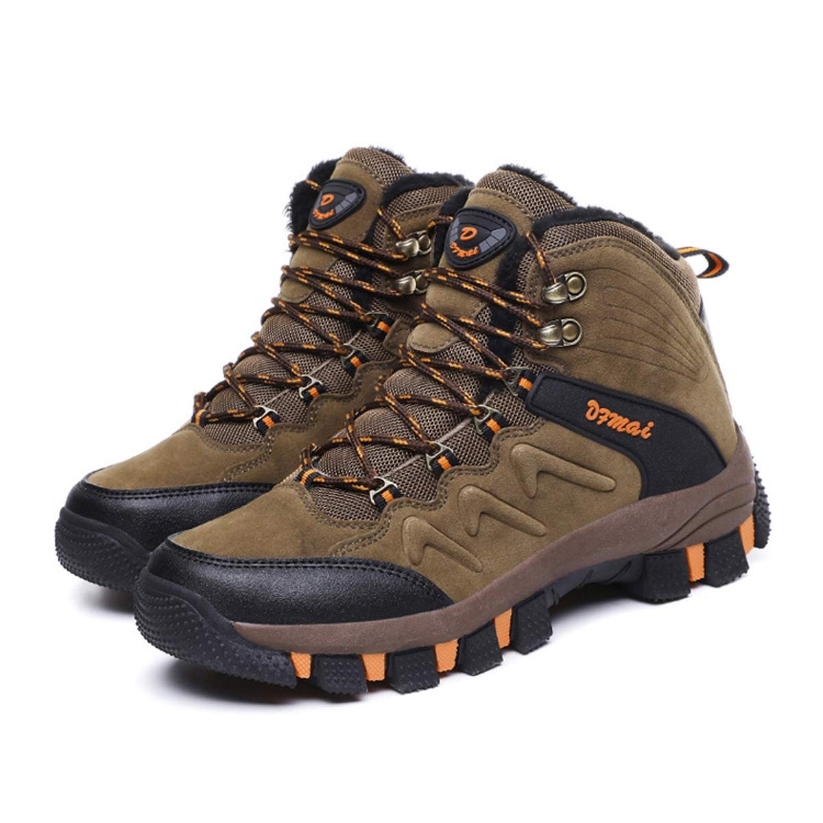 Adong Herren-Wanderschuhe Dschungel-Trekkingschuhe Bergsteigen-Stiefel Wasserdichte Schuhe Halbschuhe,B,41EU