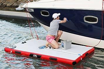 Aqua Marina - Base Hinchable Flotante, Plataforma de ...