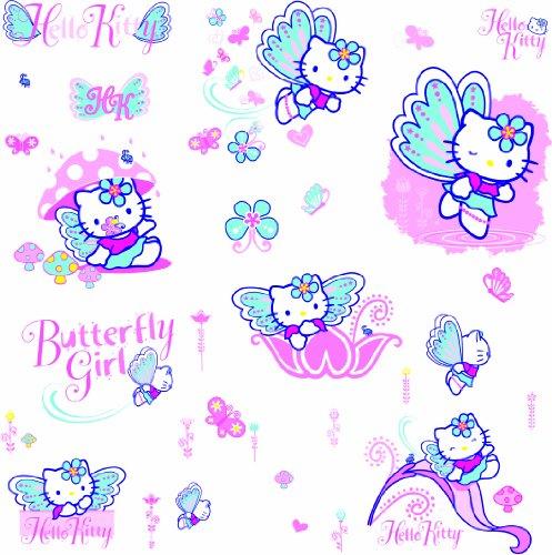 Hello Kitty - 20+ riesige Wandbilder / Möbelsticker
