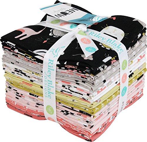 Yarn Blake (Marcia Cornell Meow 21 Fat Quarters Riley Blake Designs FQ-6560-21)