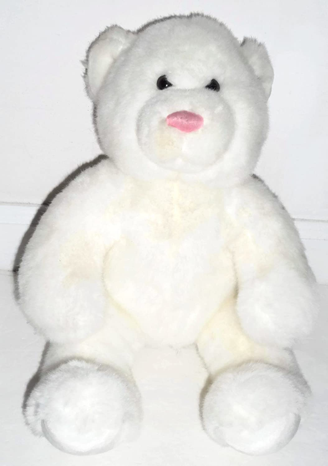 White Large Bear Plush by Build-A-Bear by Build A Bear