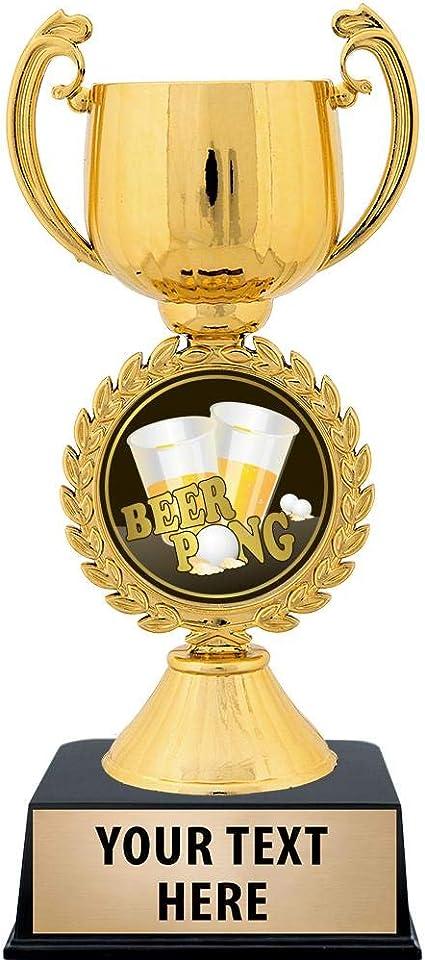 BEER PONG TOURNEY TROPHY!!! FREE ENGRAVING!! BEER PONG TROPHY//AWARD