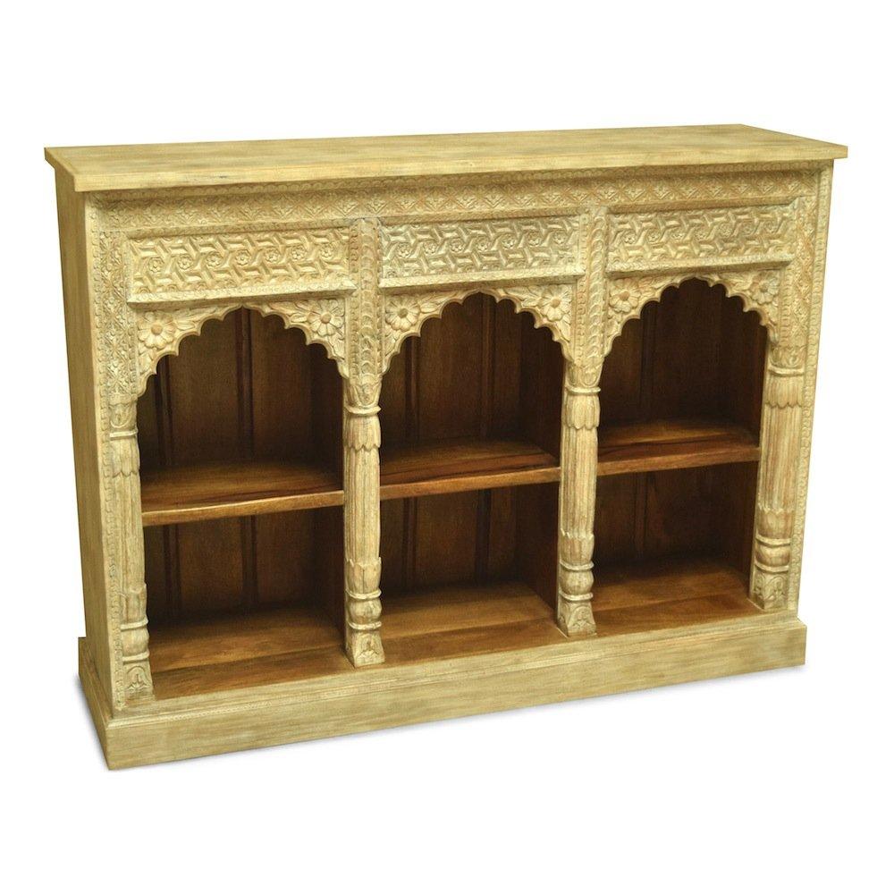 Bücherregal Prama, indisch, orientalisch,Vintage, antik Weiß ...