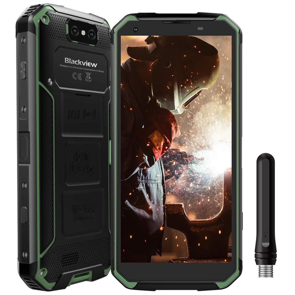 Blackview BV9500 Pro Movil Antigolpes 10000mAh 128GB ROM Teléfono Resistente Walkie-Talkie 4G Smartphone Dual SIM con Carga Inlámbrica, 5.7FHD+ ...